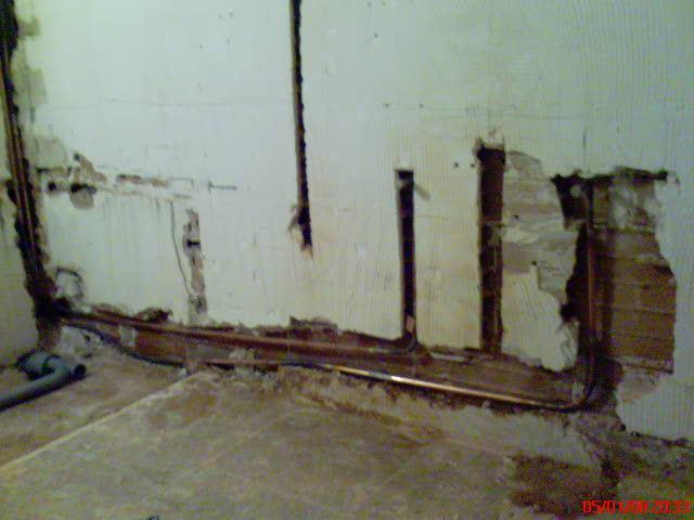 Salles de bains salles d eau cr atherm plomberie for Raccordement douche italienne