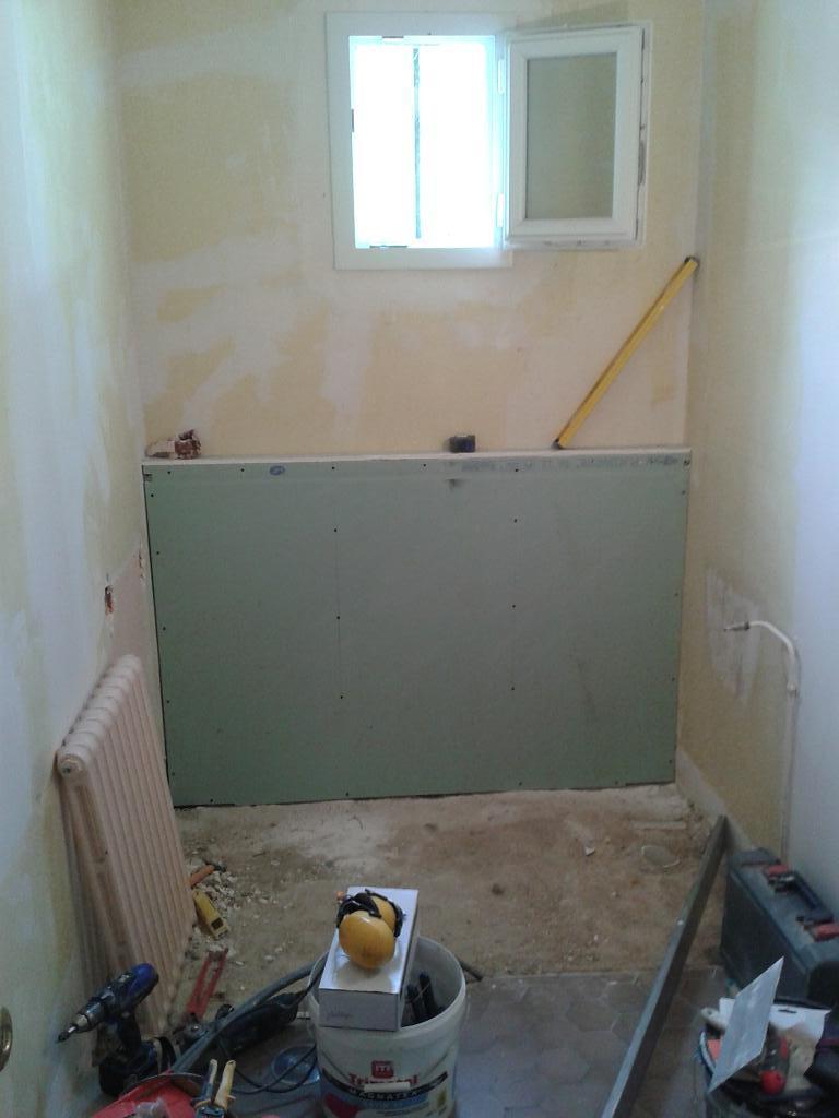 r alisation d une salle d eau l italienne cr atherm plomberie electricit et chauffage. Black Bedroom Furniture Sets. Home Design Ideas